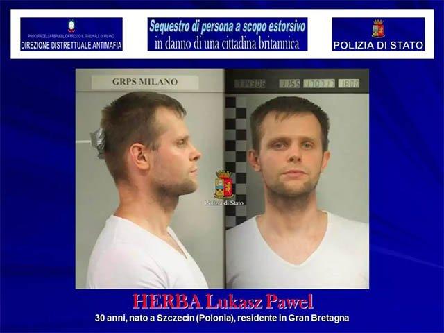 Kidnapper Lukasz Pawel Herba