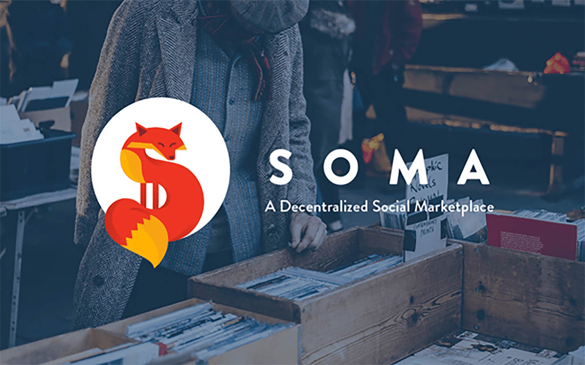 Ethereum-Based C2C Market Soma Announces Patent Pending Technology and Community Tokens