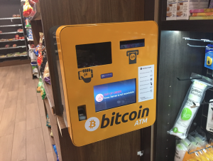 Bitcoin and Ethereum ATM machine