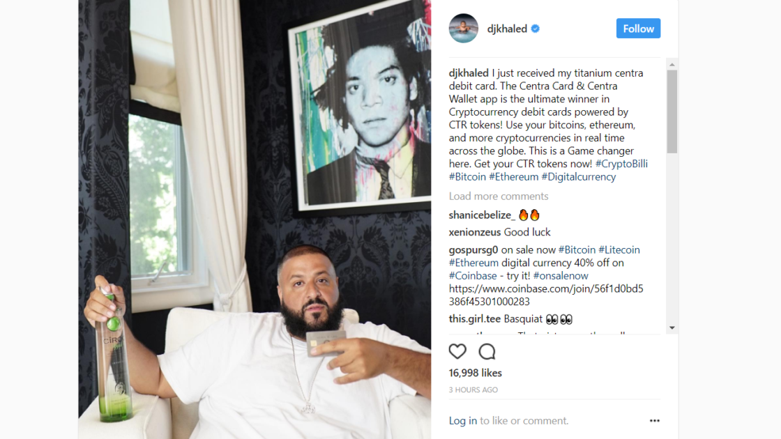 DJ Khaled and Centra