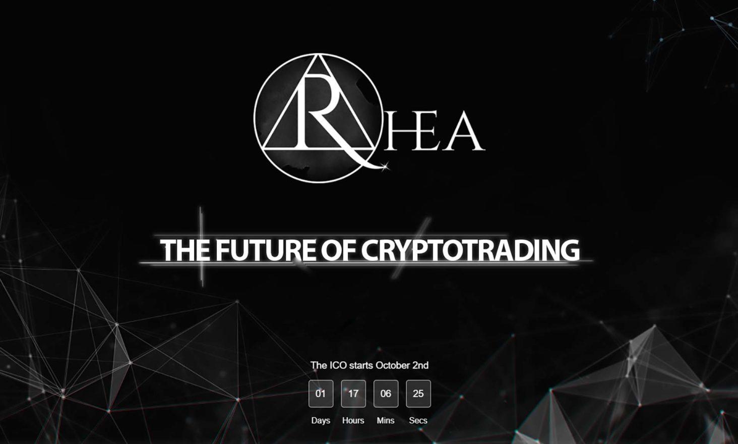 Countdown to the Rhea ICO