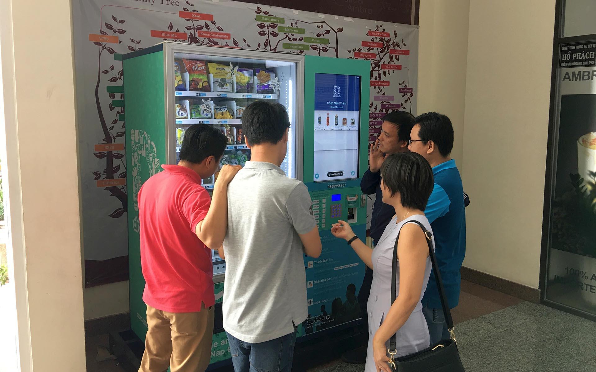 Vietnam's Largest Smart Vending Machine Operator Dropfoods to Raise Funds Through ICO on 21 Sept