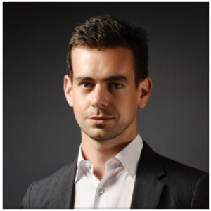Jack Dorsey, the CEO of Square and Twitter