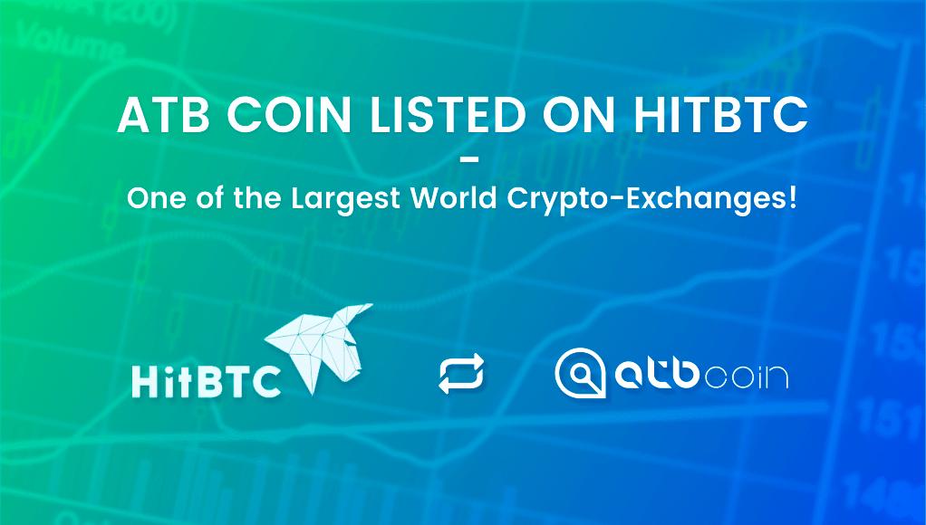 ATB Coin enters the HitBTC exchange