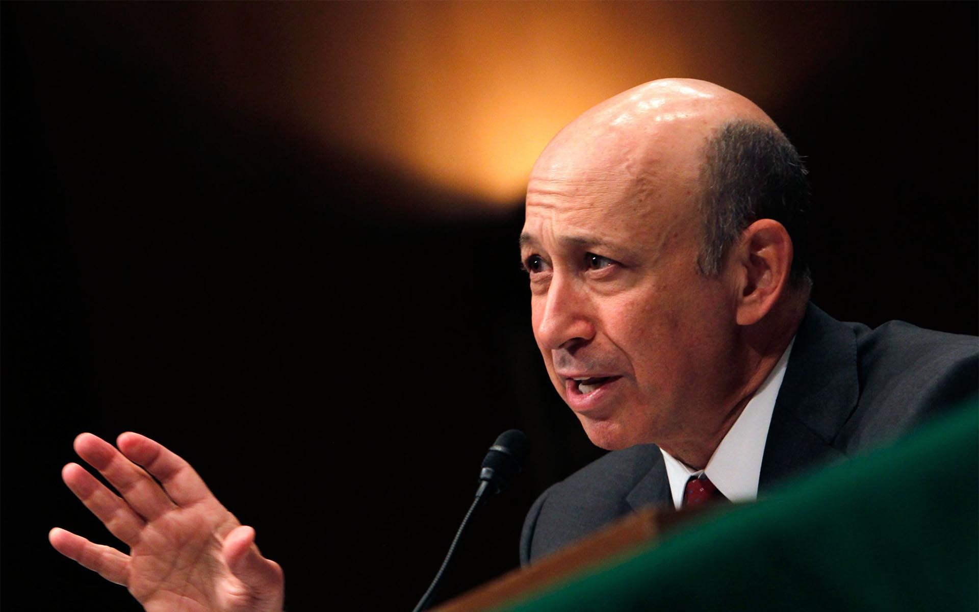 Goldman Sachs CEO Lloyd Blankfein Hints At Bitcoin Revolution