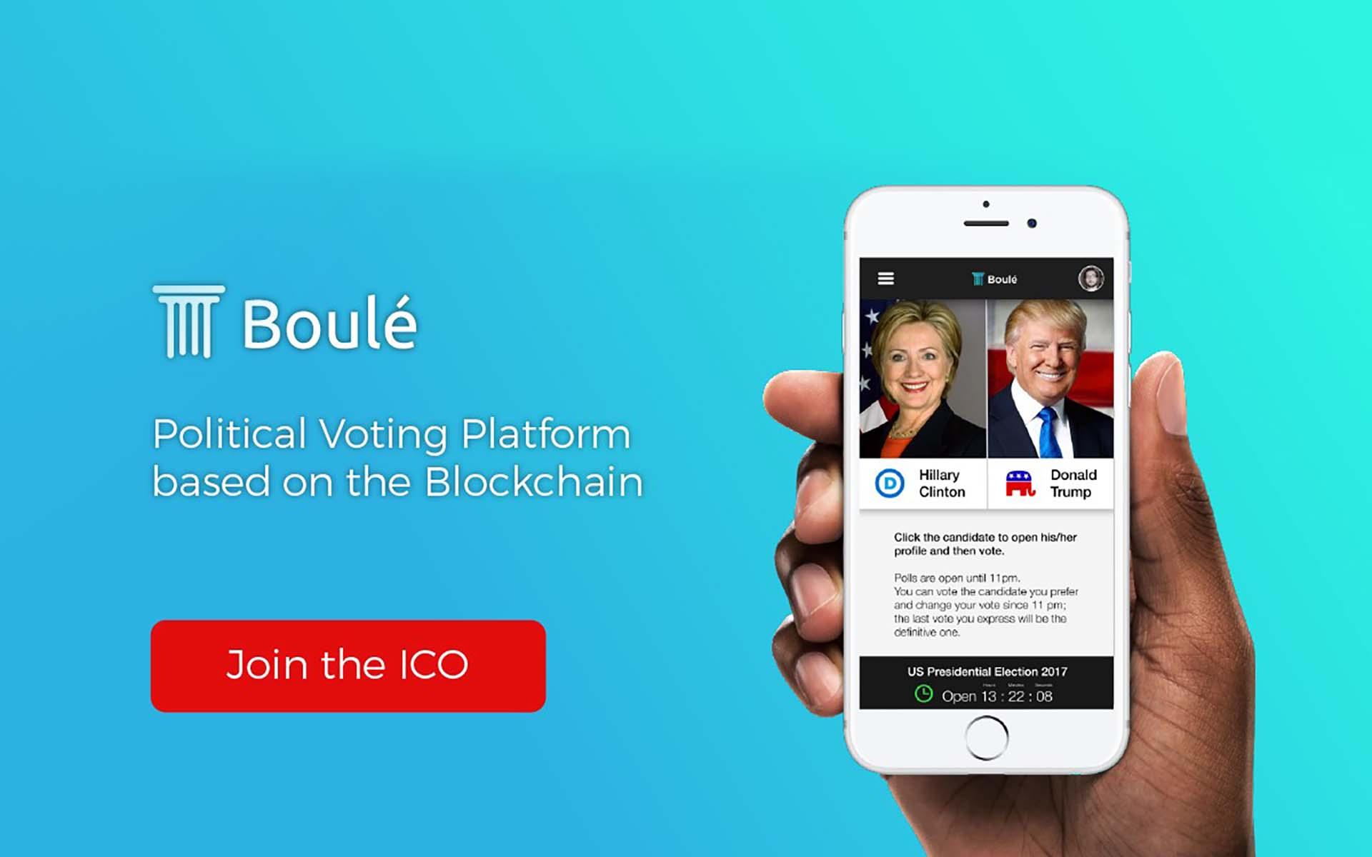 Introducing Boulé: Blockchain-Based Online Voting Technology ICO Launch
