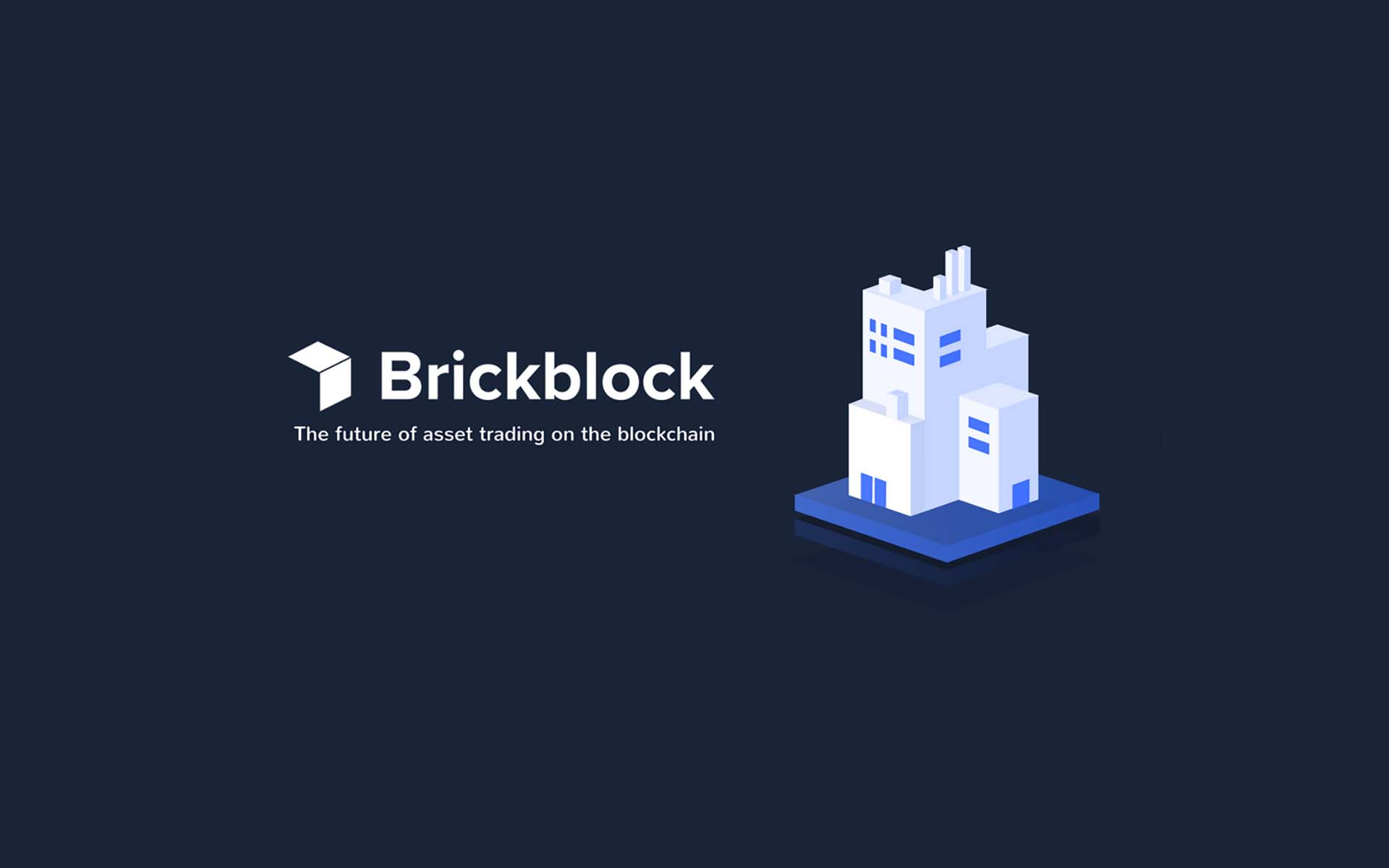 Brickblock ICO - Future of Asset Trading On the Blockchain Announces Token Sale