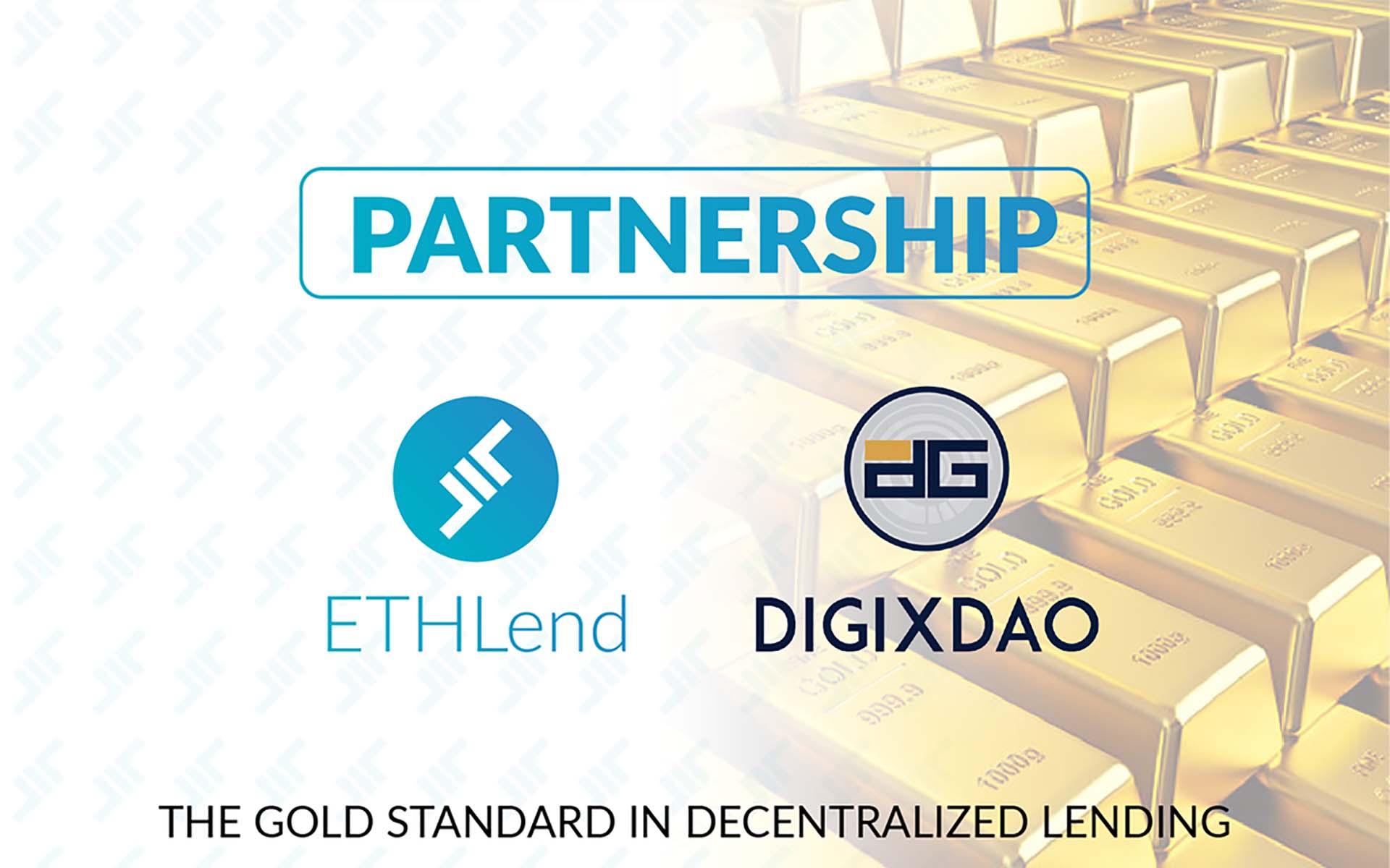 Digix & ETHLend Announce Partnership