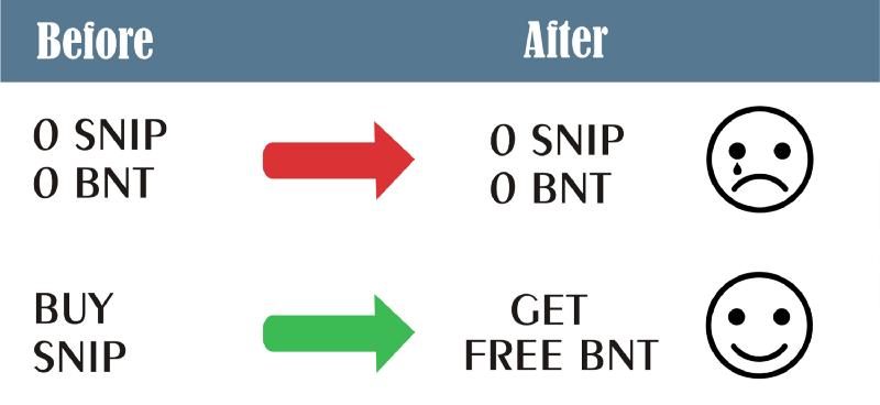 Snip – Bancor Airdrop
