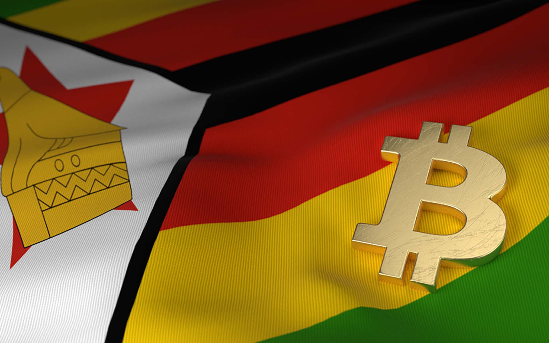 Bitcoin price mooning in Zimbabwe