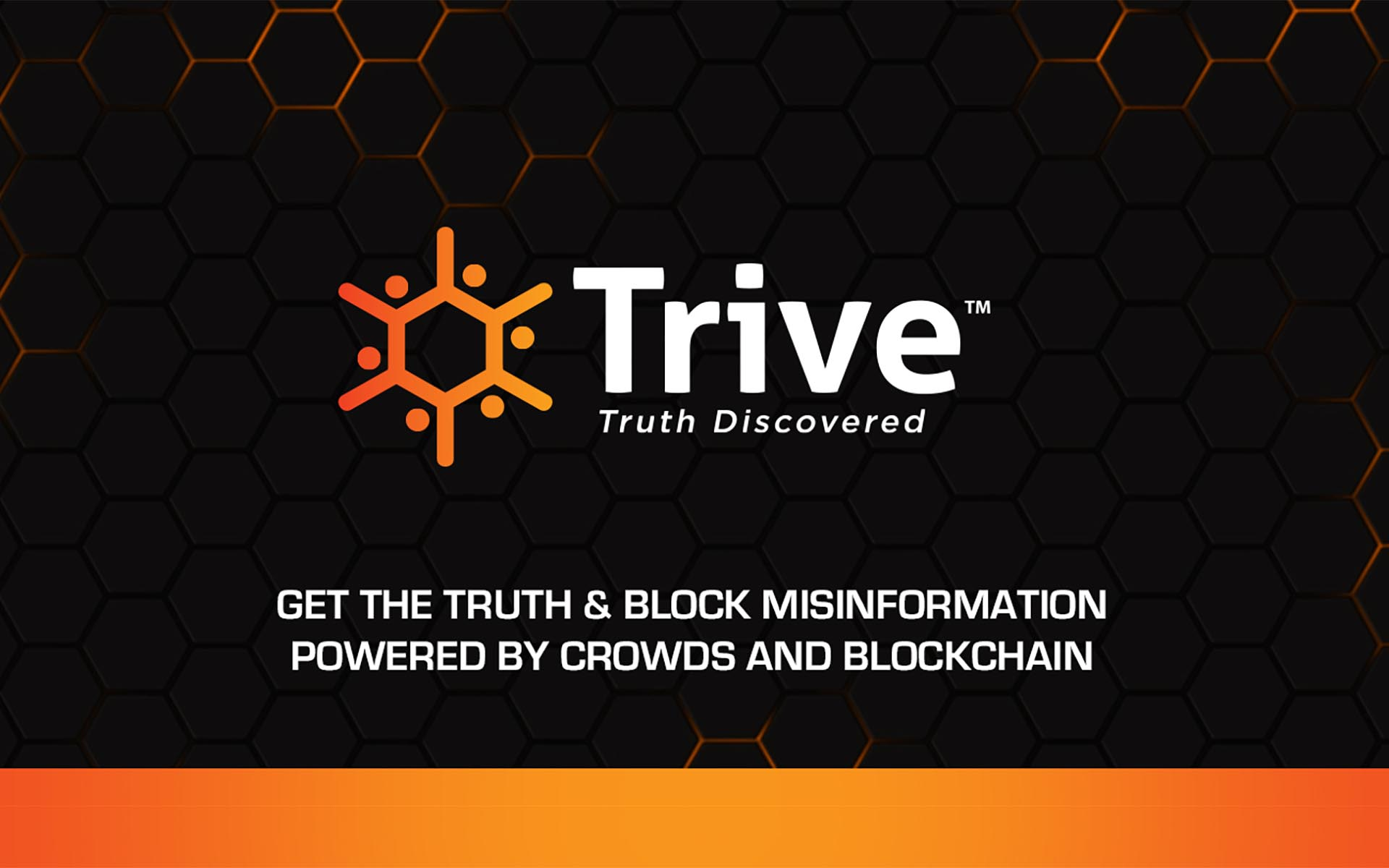 Live Pre-sale of Trive: Fights Fake News Using Cryptocurrency and Crowdsourced Research
