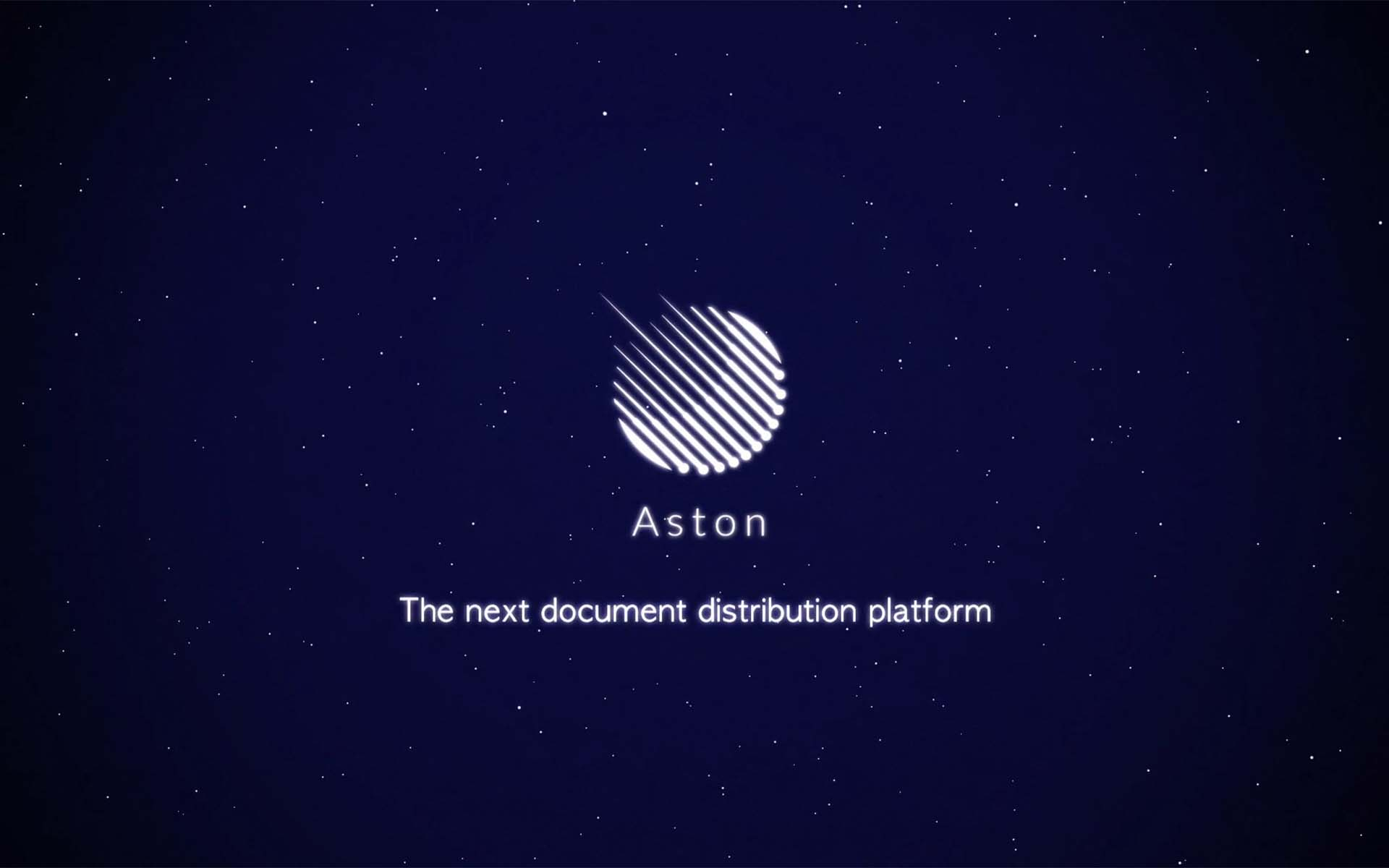 Aston Shakes Up Document Distribution Industry With Launch Of ICO & Next Generation Fully Automated Document Distribution Platform Based On BlockChain Technology