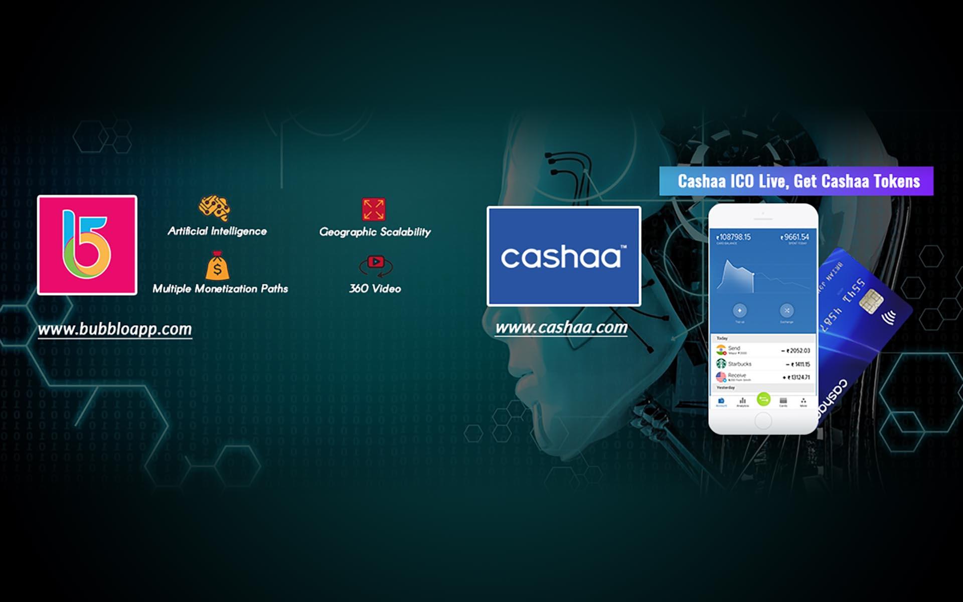 Blockchain Giant Cashaa Ventures into a Strategic Partnership with Bubblo