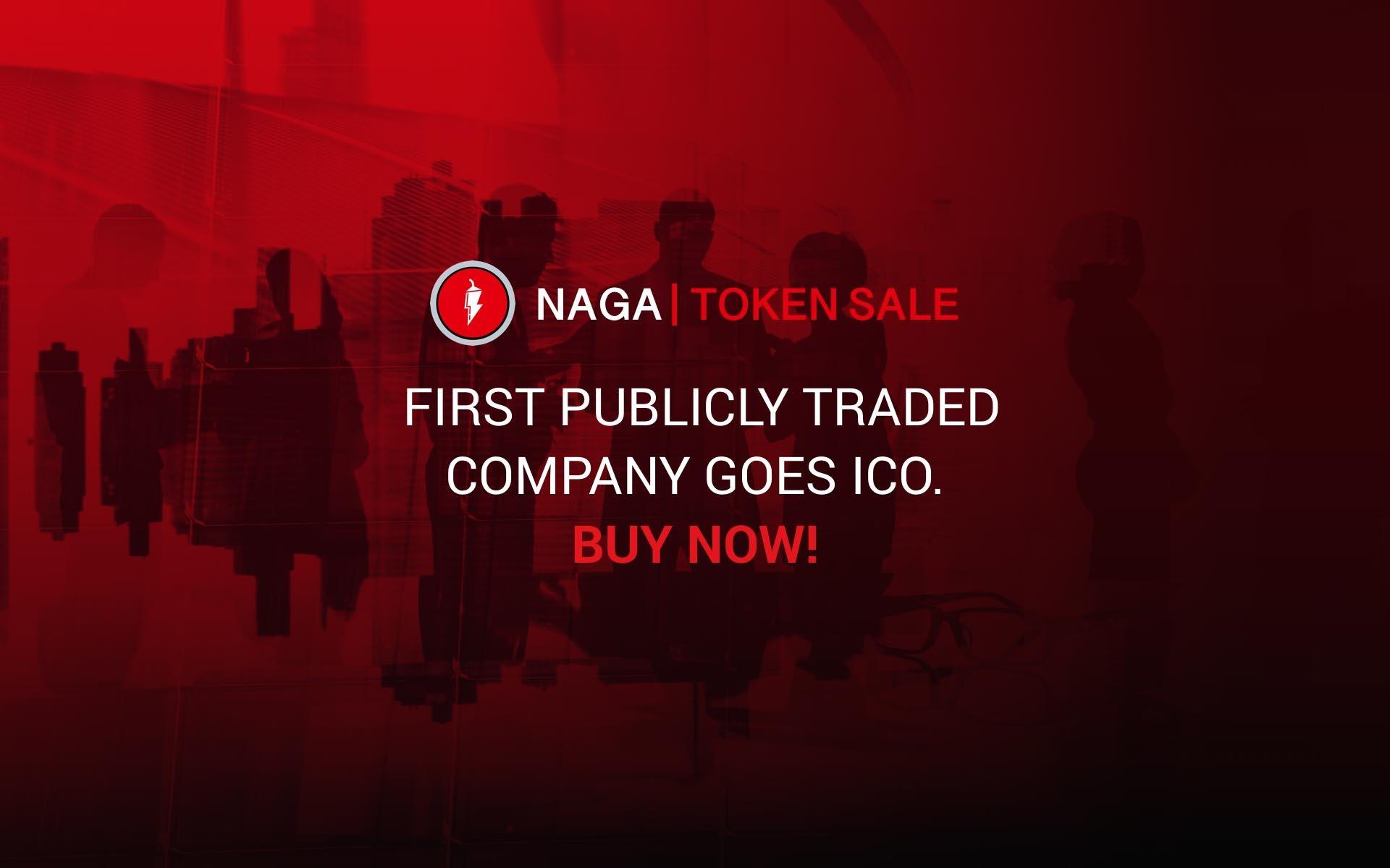 German FinTech Company NAGA Group to Launch Token Pre-Sale Today