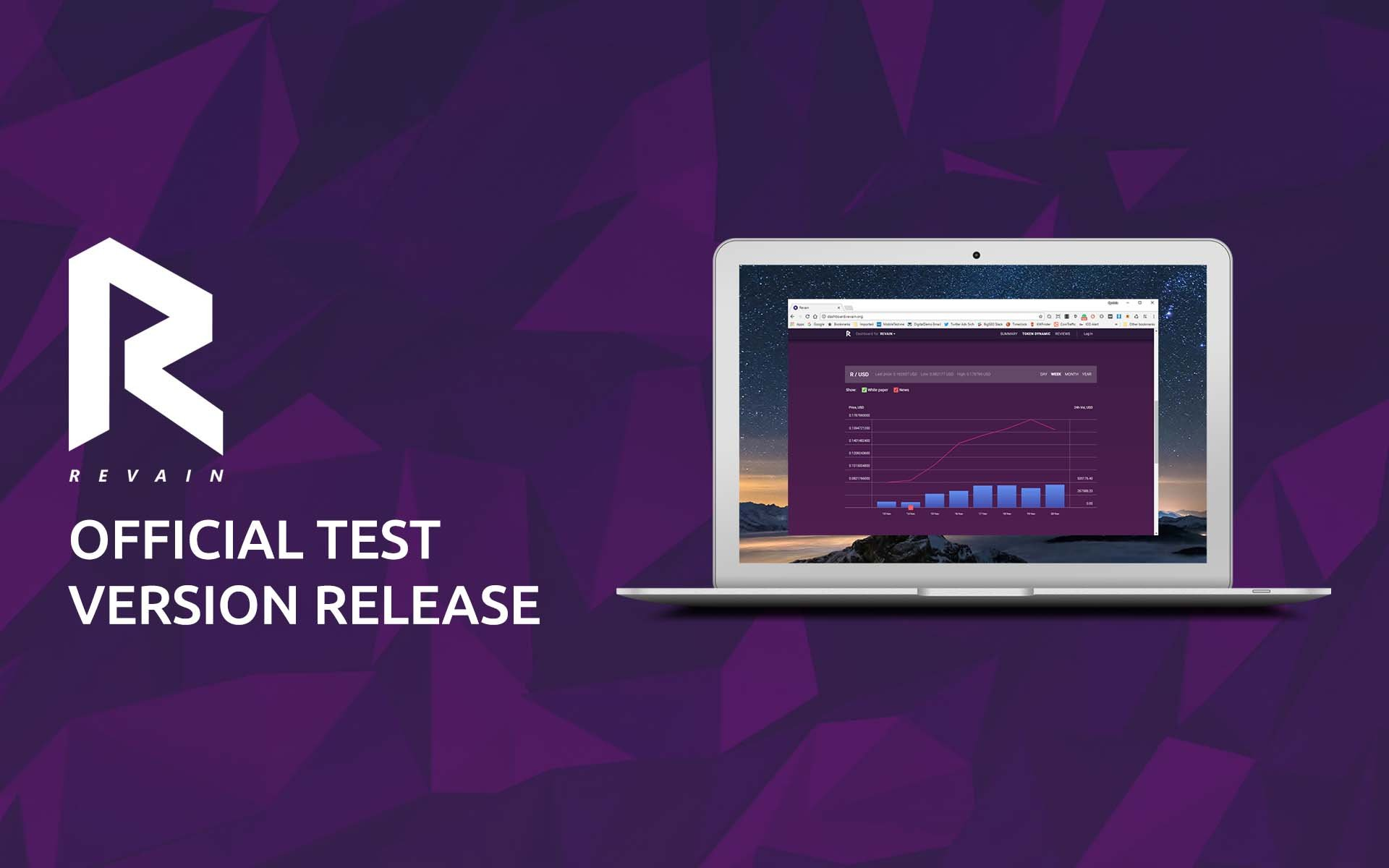 Revain Announces Release of the First Test Version of the Platform