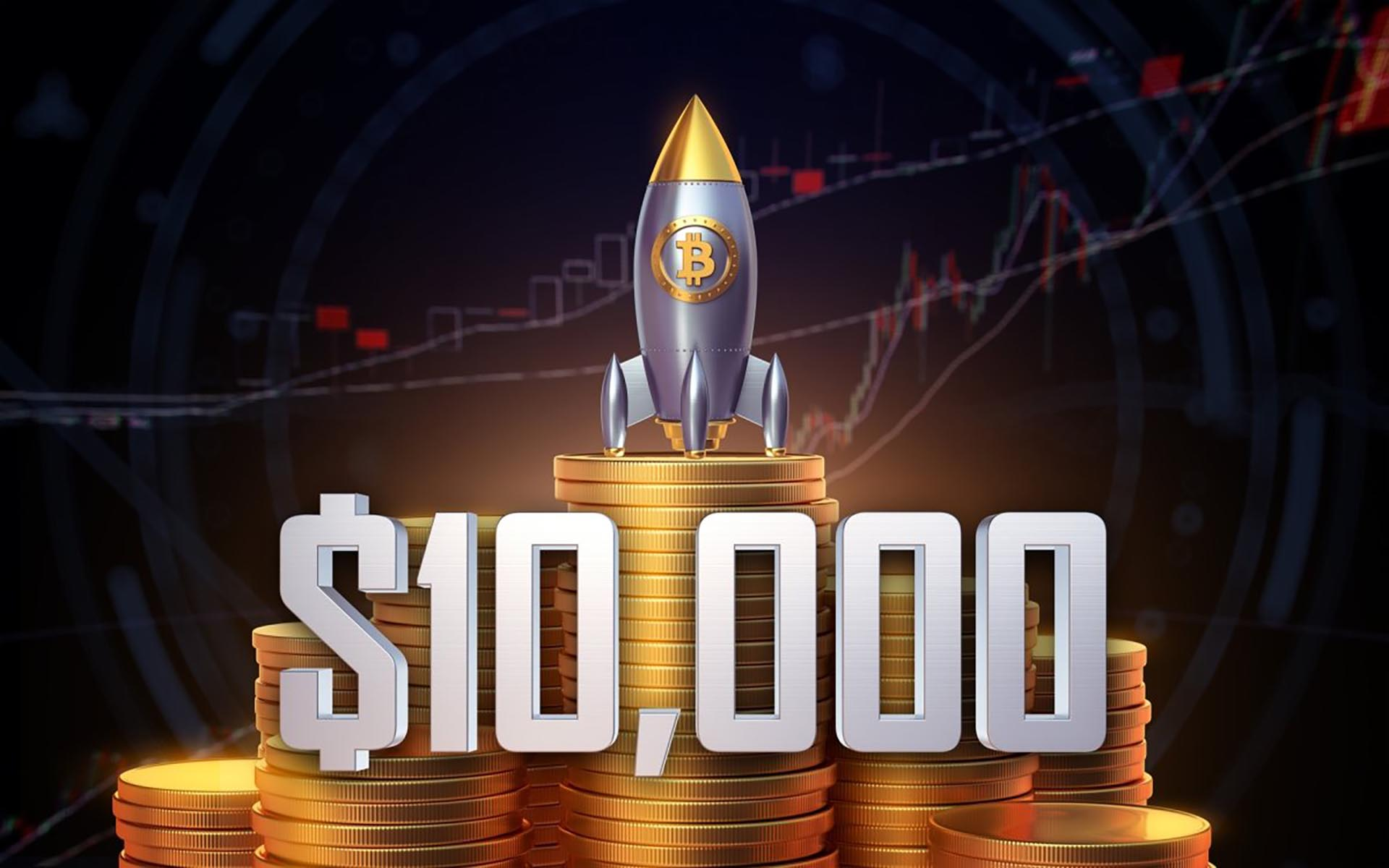 Ultimate Wow: Bitcoin Reaches $10,000 For The First Time