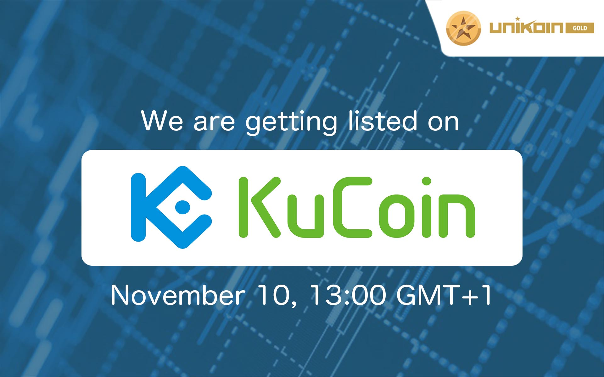 UnikoinGold to join KuCoin's Unique Offerings, Opens for Trading On Friday November 10
