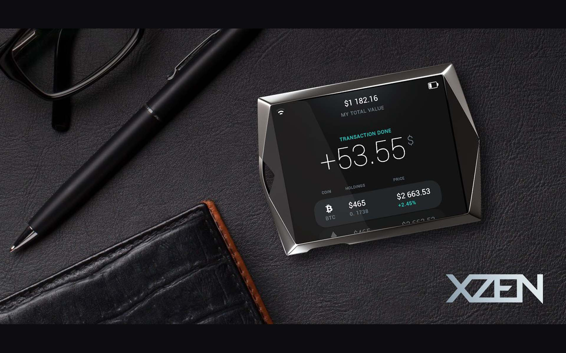 Startup XZEN Presents a Next-Generation Hardware Crypto Wallet