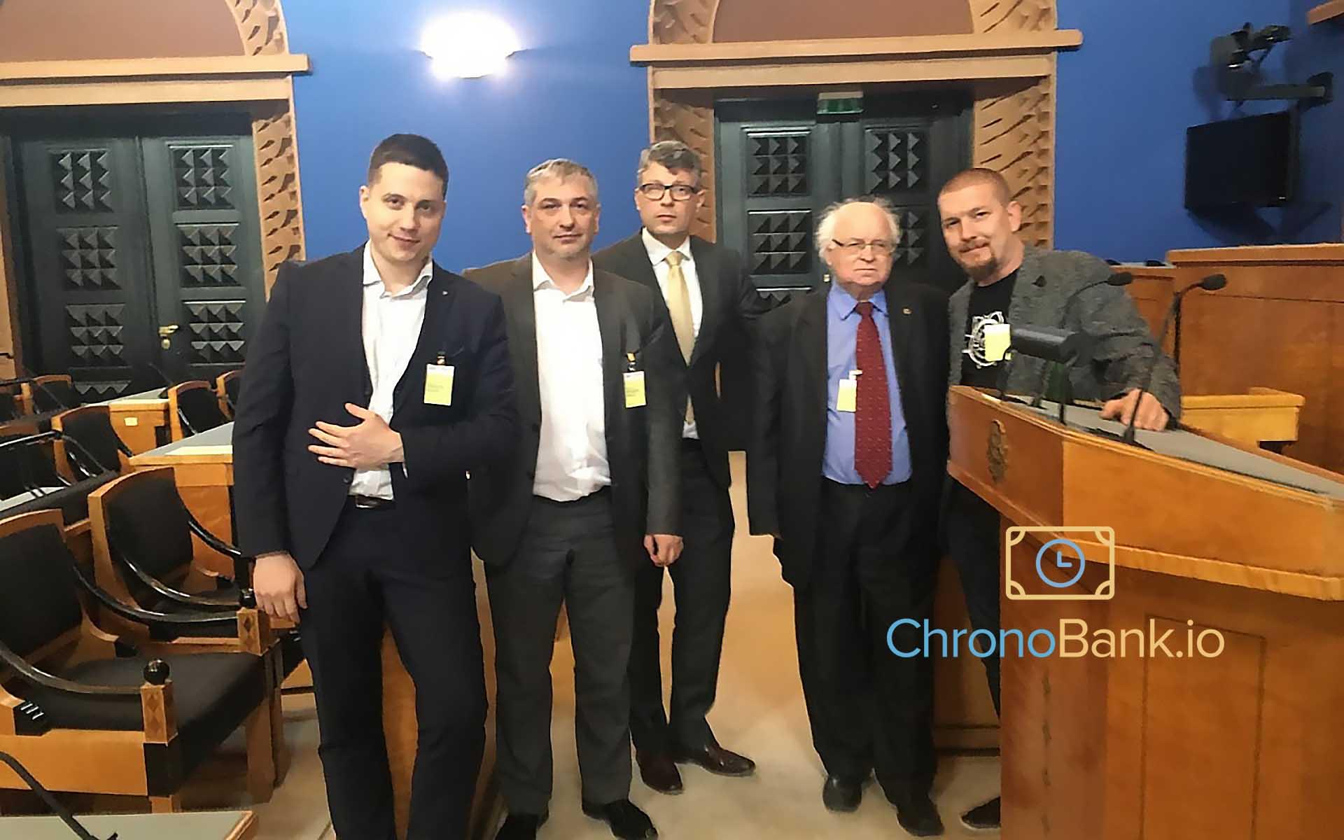 Chronobank Makes Time For Estonia's Crypto Effort