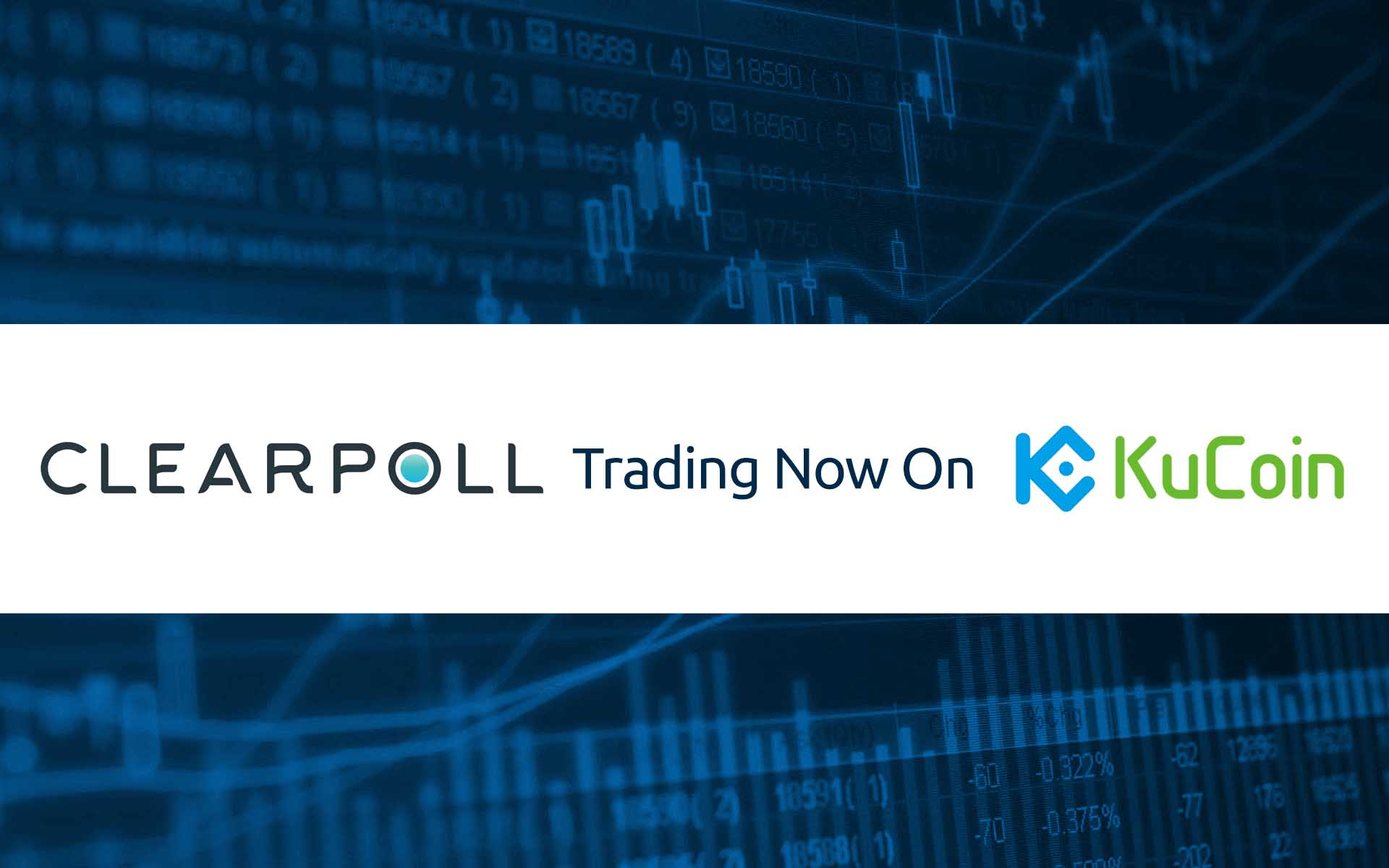 ClearPoll Now Listed On KuCoin - POLL/BTC and POLL/ETC