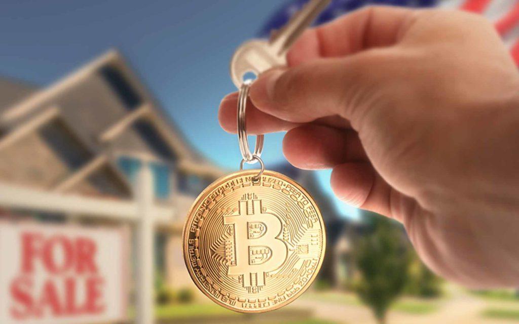 Bitcoin real estate
