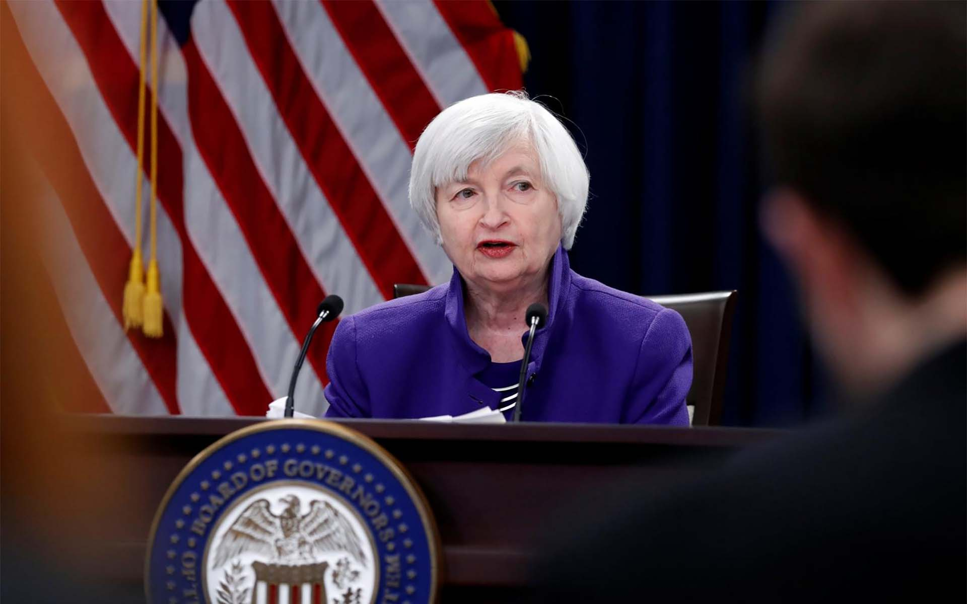 U.S. Federal Reserve Chair Janet Yellen Downplays Bitcoin