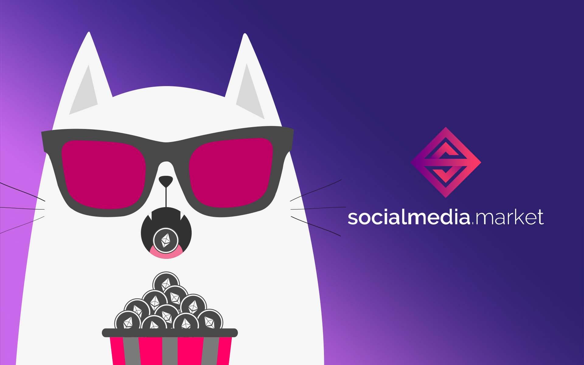 Get Meowed! SocialMedia.Market Rewards Contributors with CryptoKitties