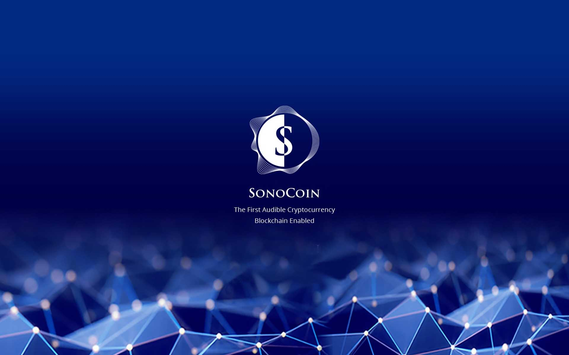 SonoCoin Rocks The Cryptocurrency World With ICO Launch & Release Of The First Ever Audible Blockchain Enabled Cryptocurrency