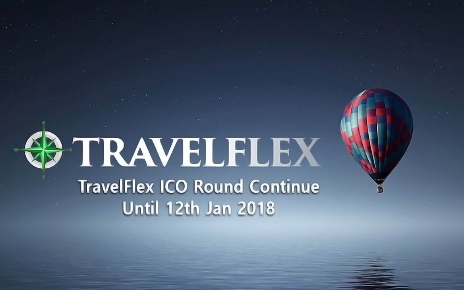 TravelFlex ICO Round Continue Until 12th Jan 2018