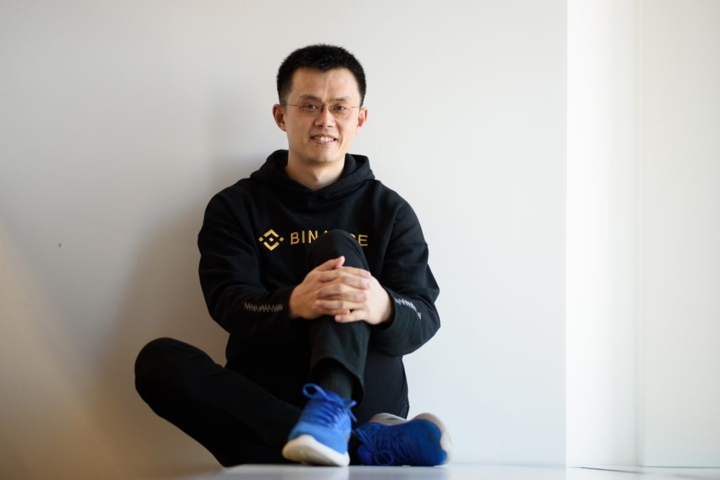 Binance founder Zhao Changpeng