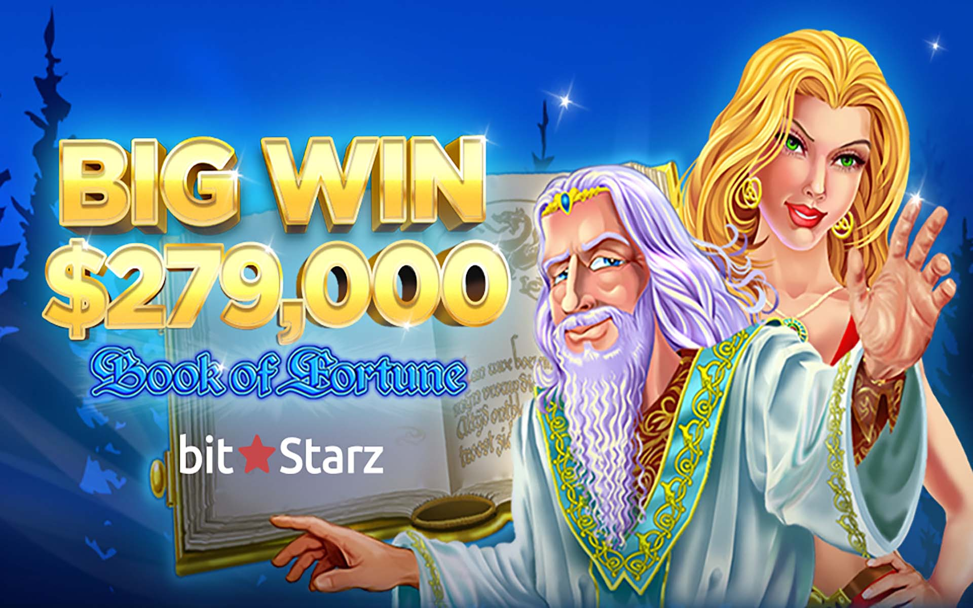Book of Fortune Leads Player to 19.2 BTC ($279,000) Win at BitStarz!