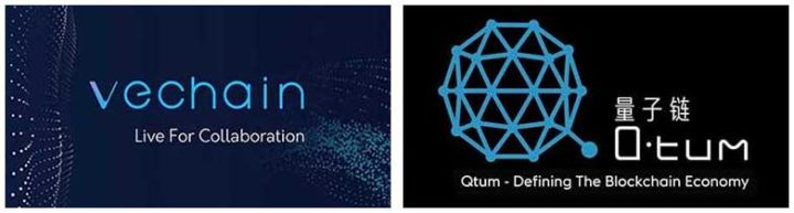VeChain and QTUM