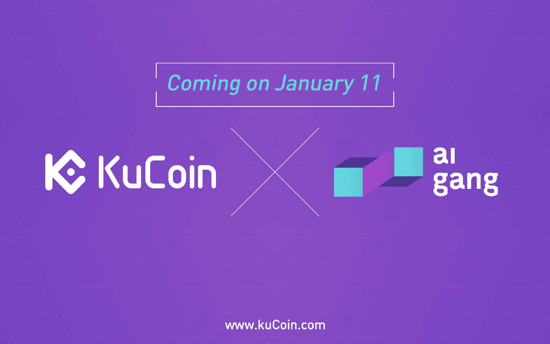 ai gang (AIX) Listed on KuCoin - AIX/BTC and AIX/ETH