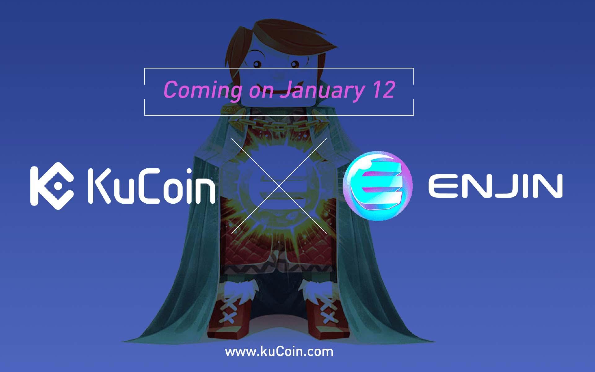 Enjin (ENJ) Now Trading on KuCoin - ENJ/BTC and ENJ/ETH