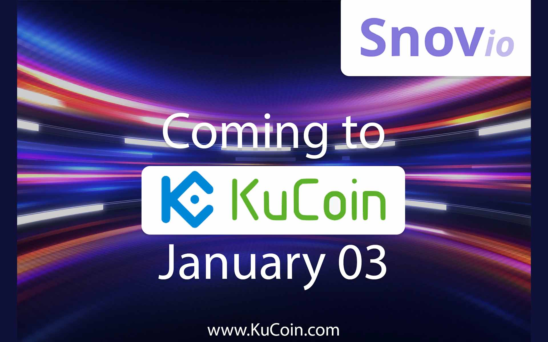 Snovio Lead Generation for the Blockchain Gets Released on KuCoin