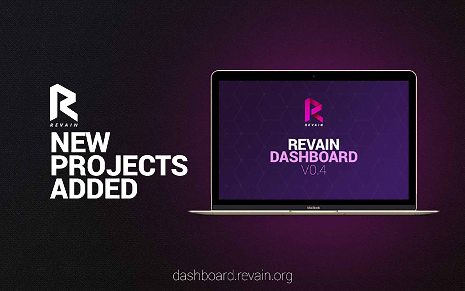 Revain Releases Dashboard Version 0.4