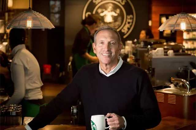 Starbucks Chairman Howard Schultz