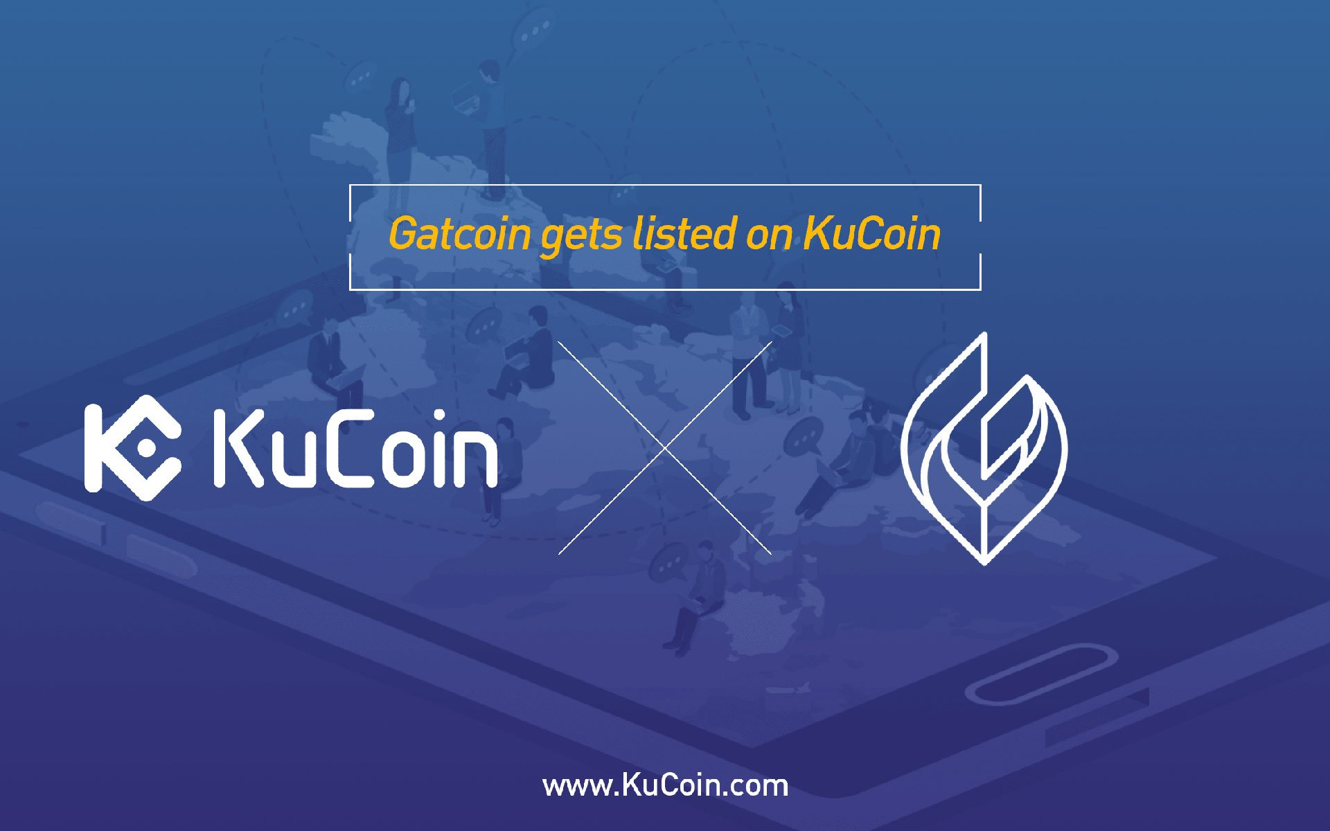 Gatcoin(GAT) gets listed on KuCoin!