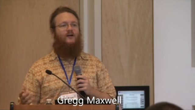 Confidential Transactions developer Gregg Maxwell