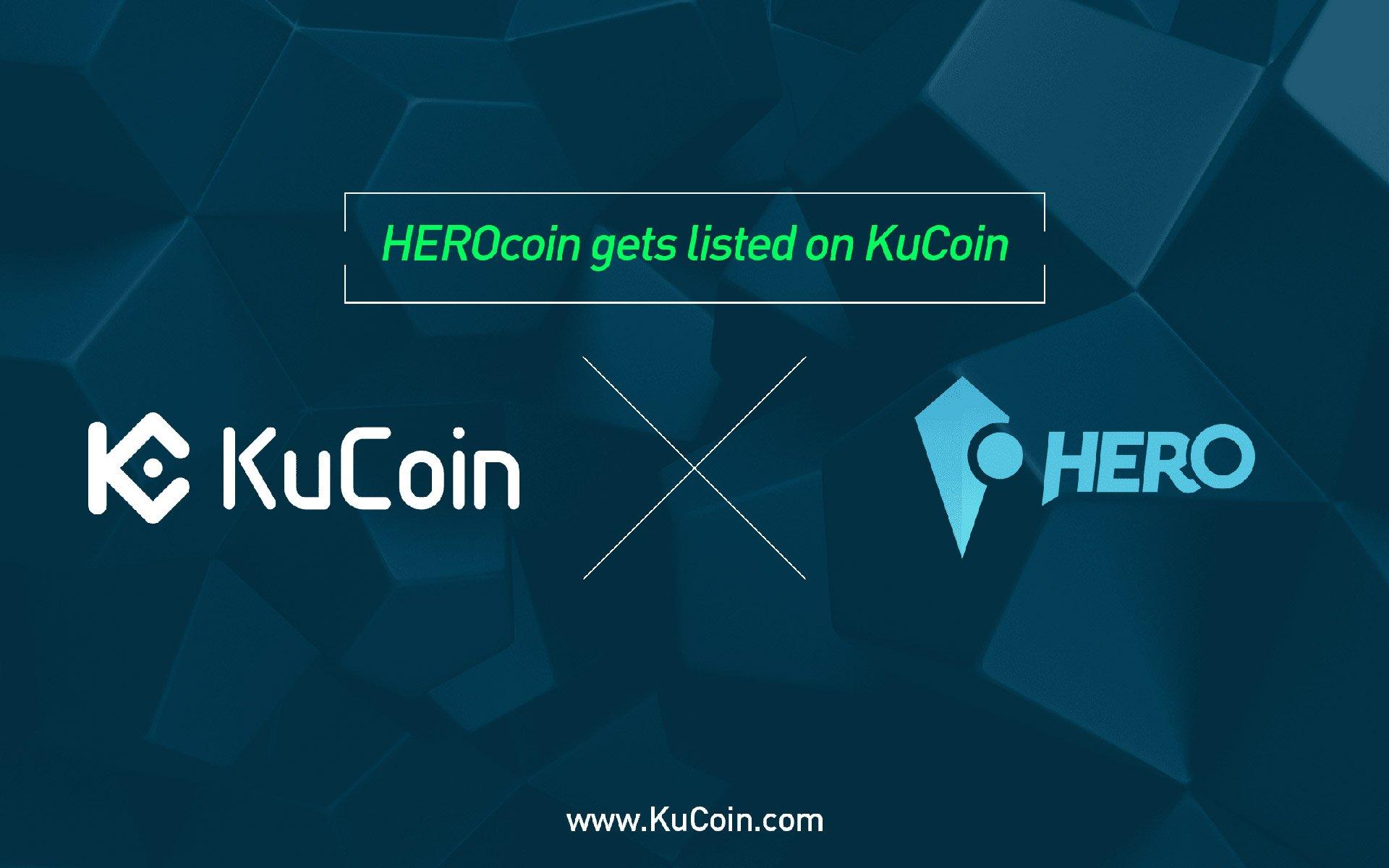 HEROcoin(PLAY) gets listed on KuCoin!
