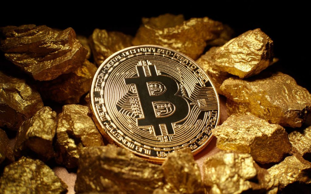 Bitcoin replacing gold