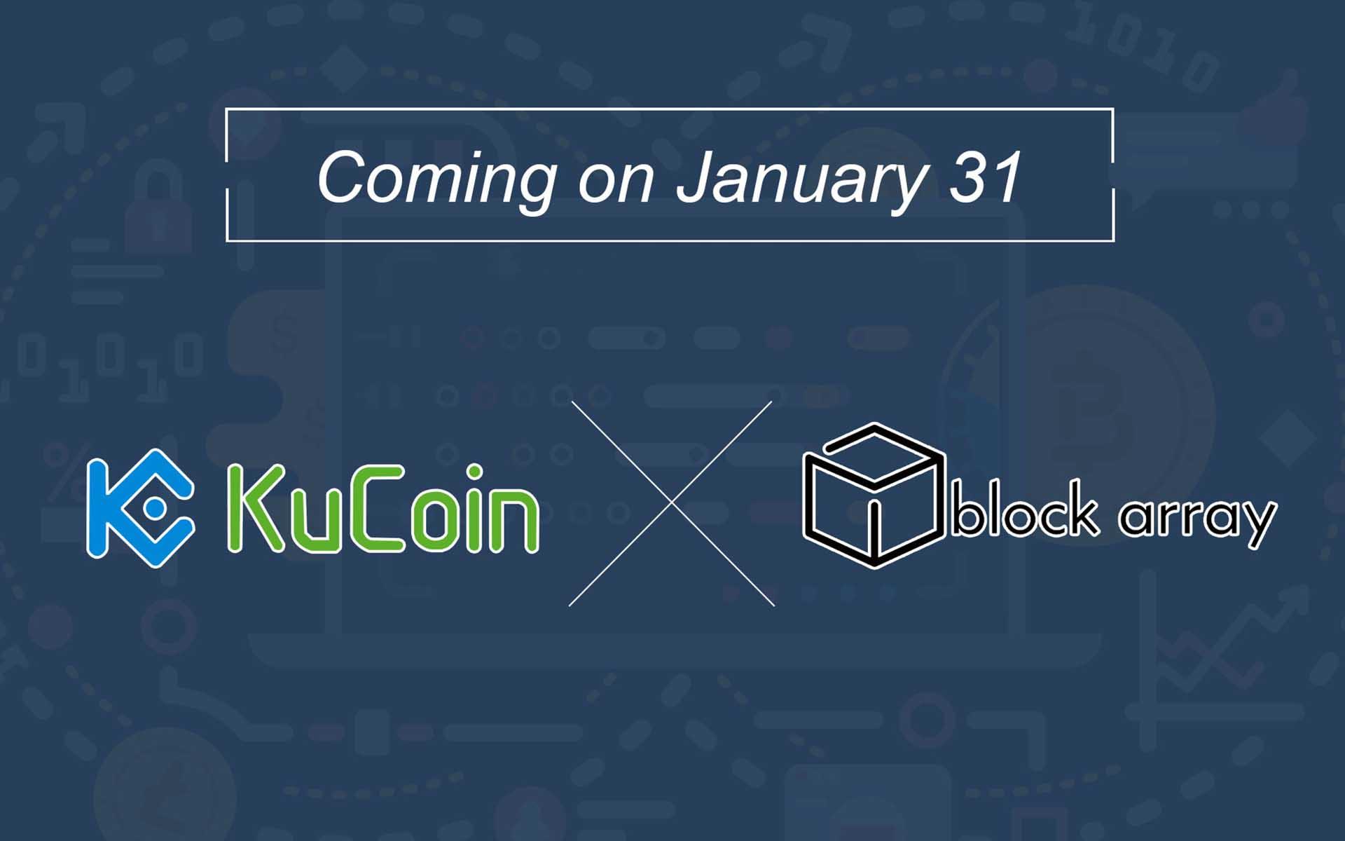 Block Array Gets Listed On KuCoin