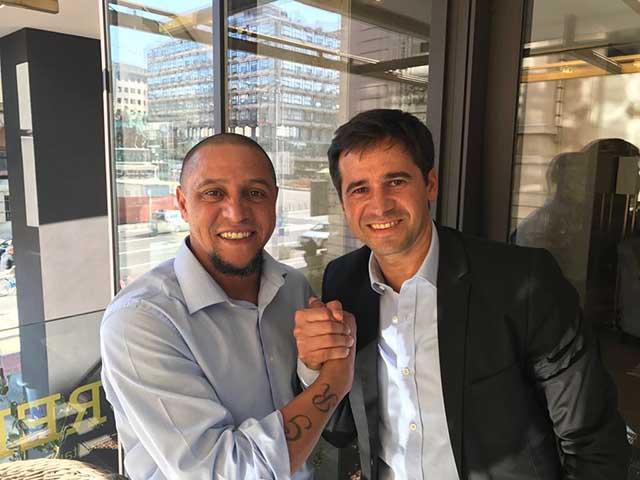 SportyCo and Roberto Carlos