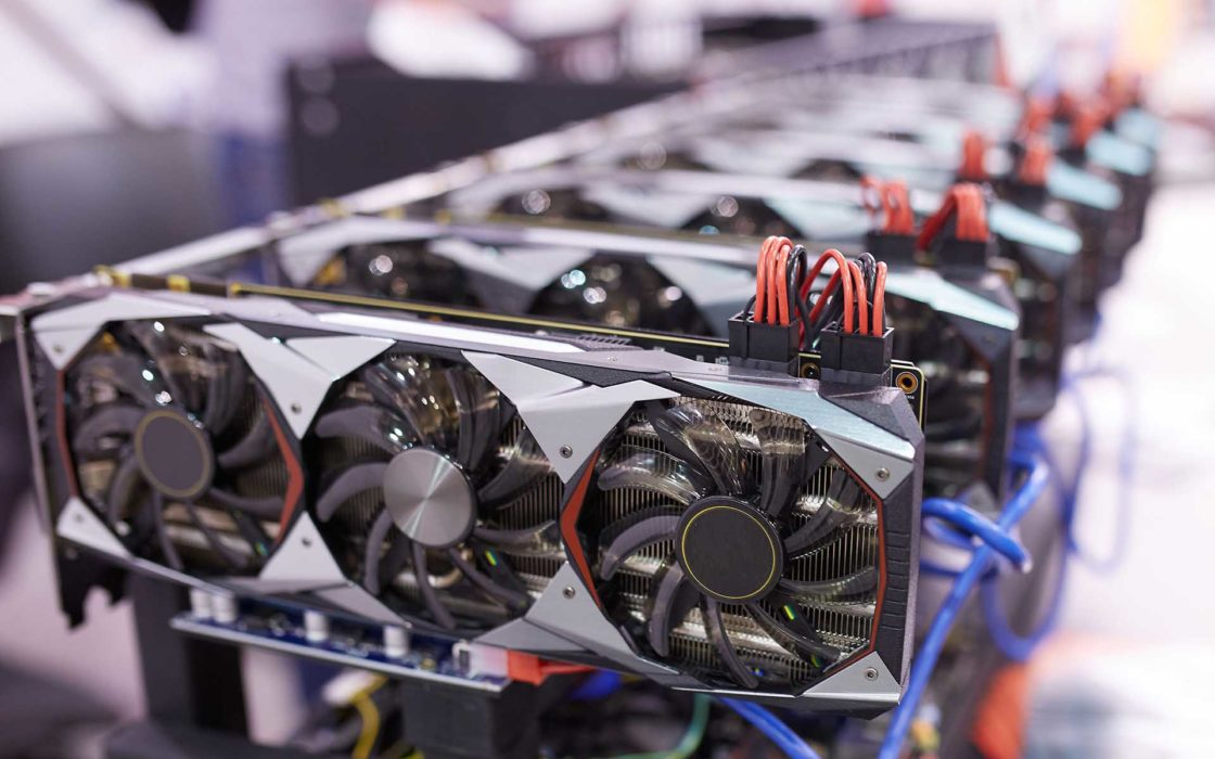 Cryptocurrenci Mining GPUs