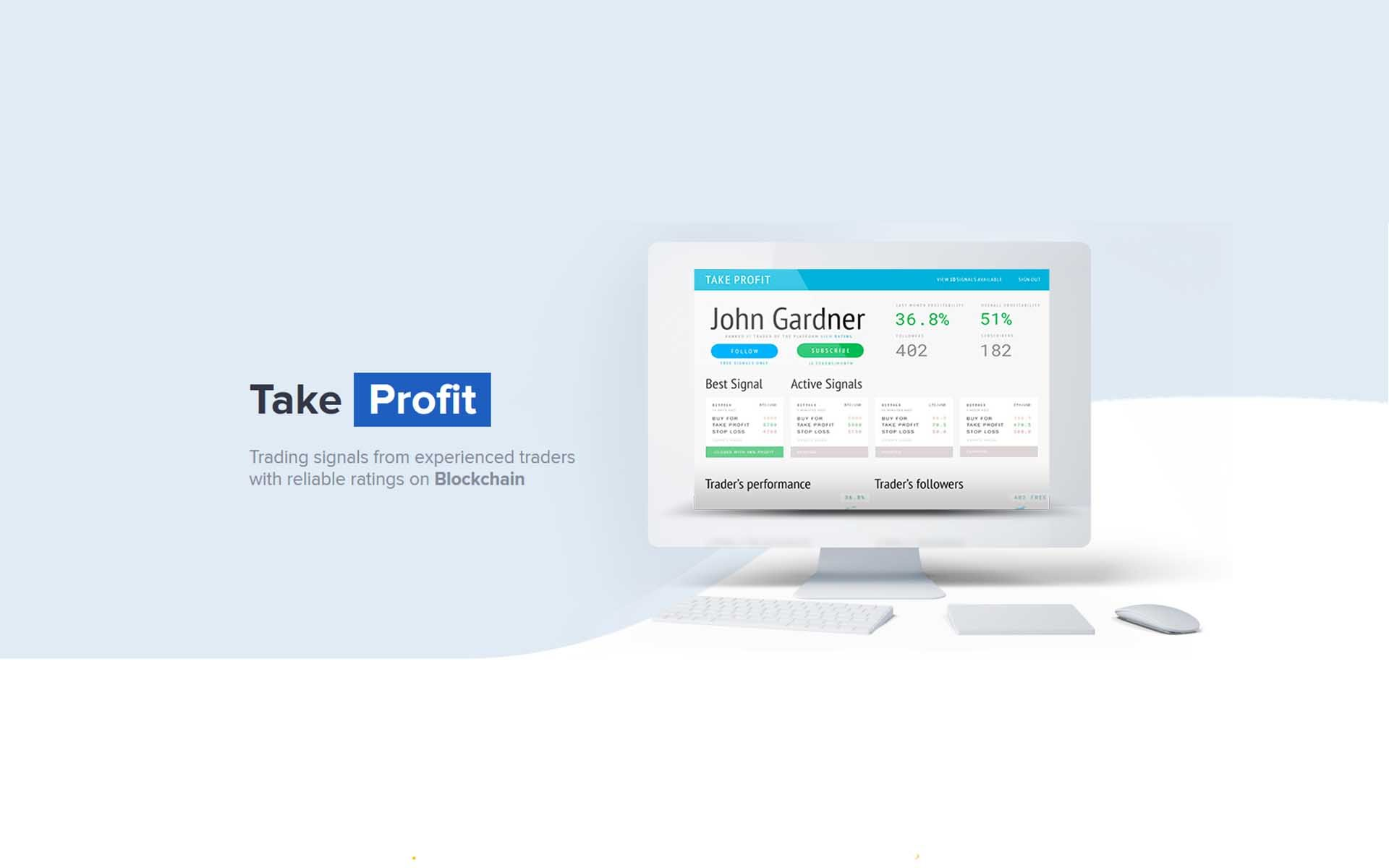 Takeprofit Wants to Make the Best Cryptocurrency Trading Signals Available to Everybody