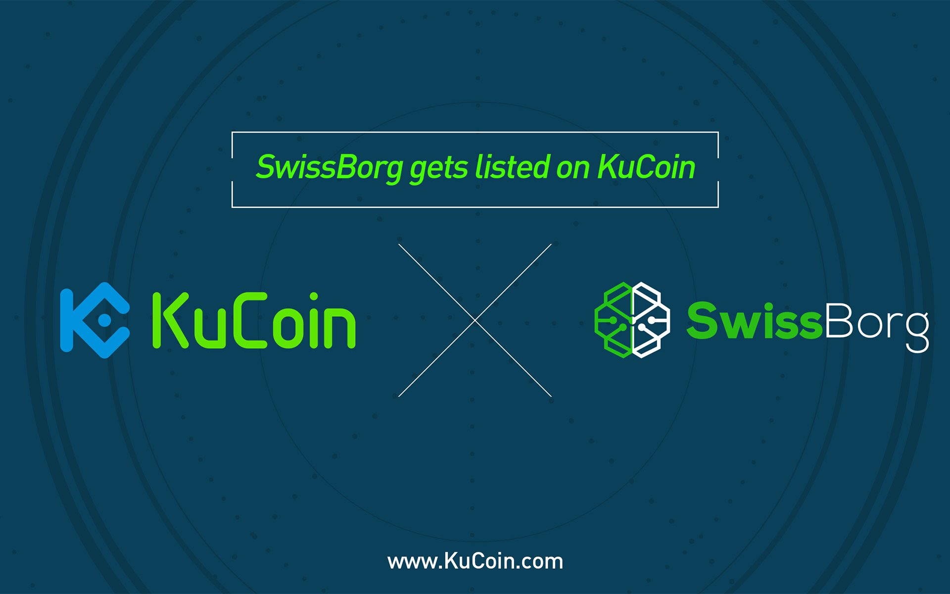 SwissBorg(CHSB) Gets Listed on KuCoin!