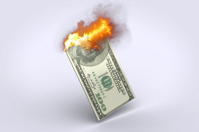 Cash is Being Burned
