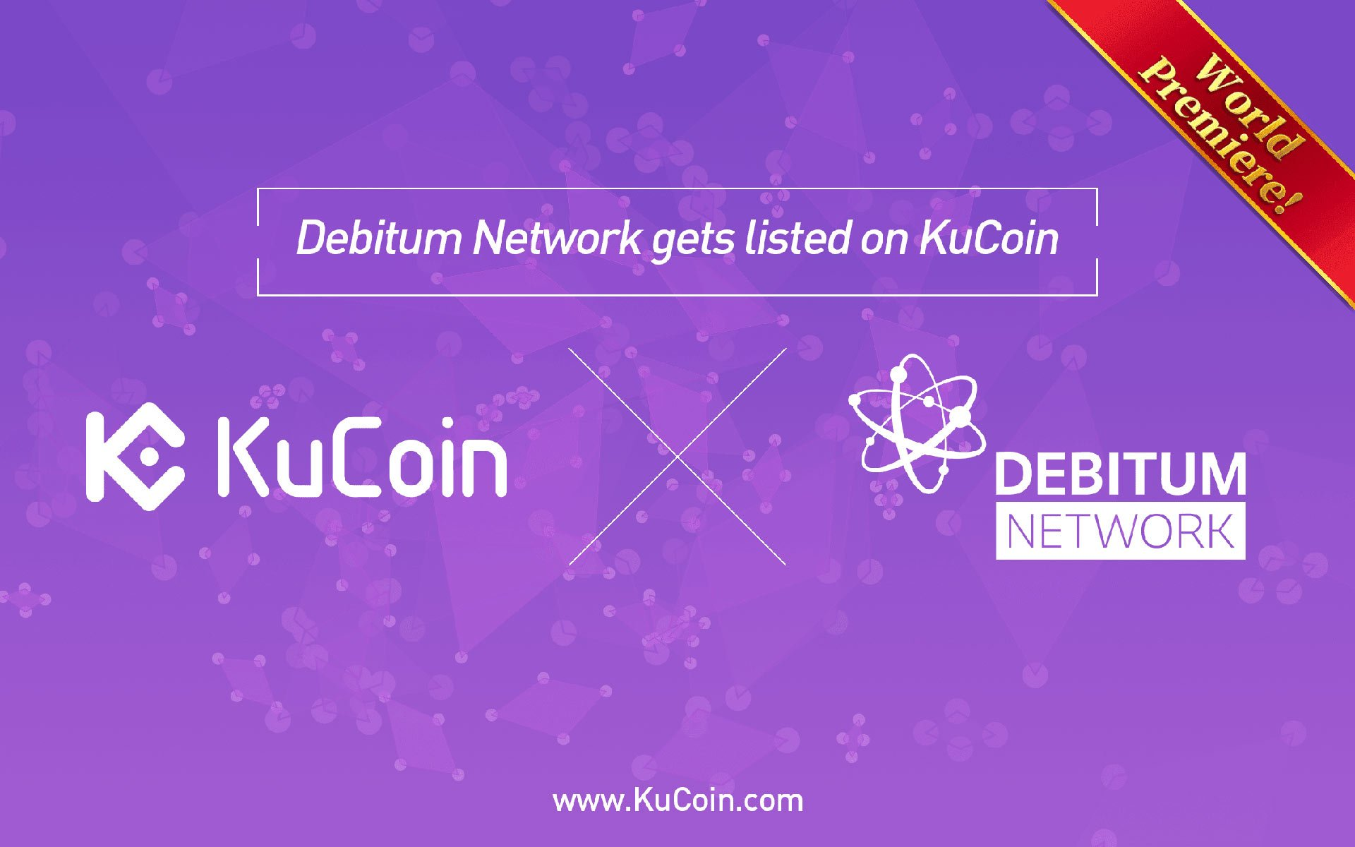 Debitum Network(DEB) Gets Listed on Kucoin! World Premiere!