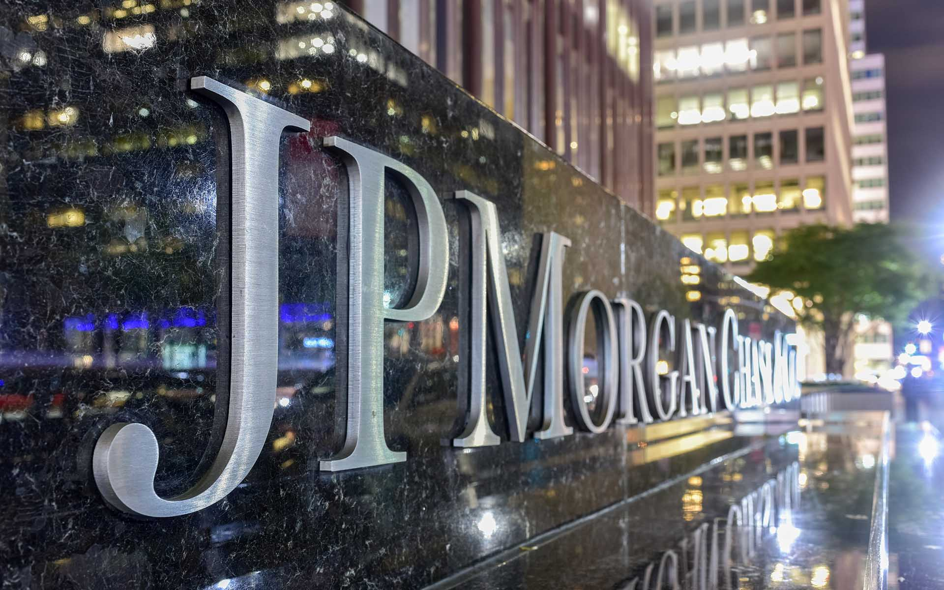 J.P. Morgan blockchain