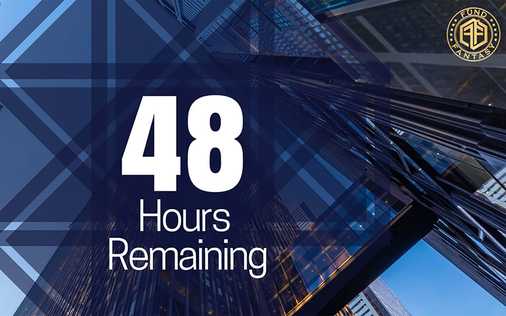 FundFantasy Is Speeding Towards The Goal - 48 Hours left on ICO!